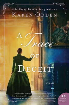 Book cover: A Trace of Deceit by Karen Odden
