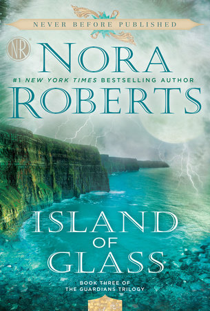 Book cover: Island of Glass by Nora Roberts