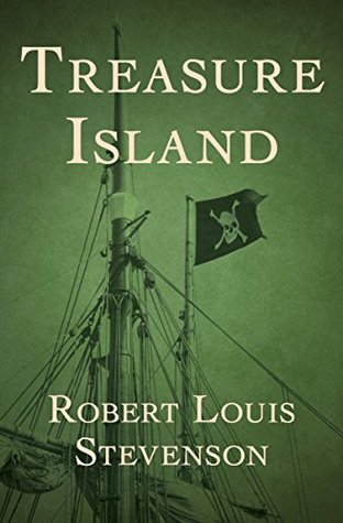 Book cover: Treasure Island by Robert Louis Stevenson (Open Road Media edition)