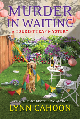 Book cover: Murder in Waiting, by Lynn Cahoon