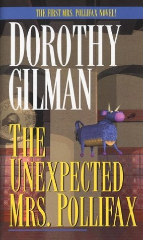Book Cover: The Unexpected Mrs. Pollifax, by Dorothy Gilman
