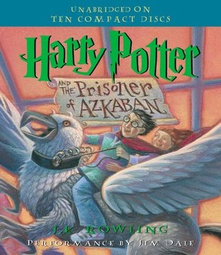 Audiobook cover: Harry Potter and the Prisoner of Azkaban, by J. K. Rowling