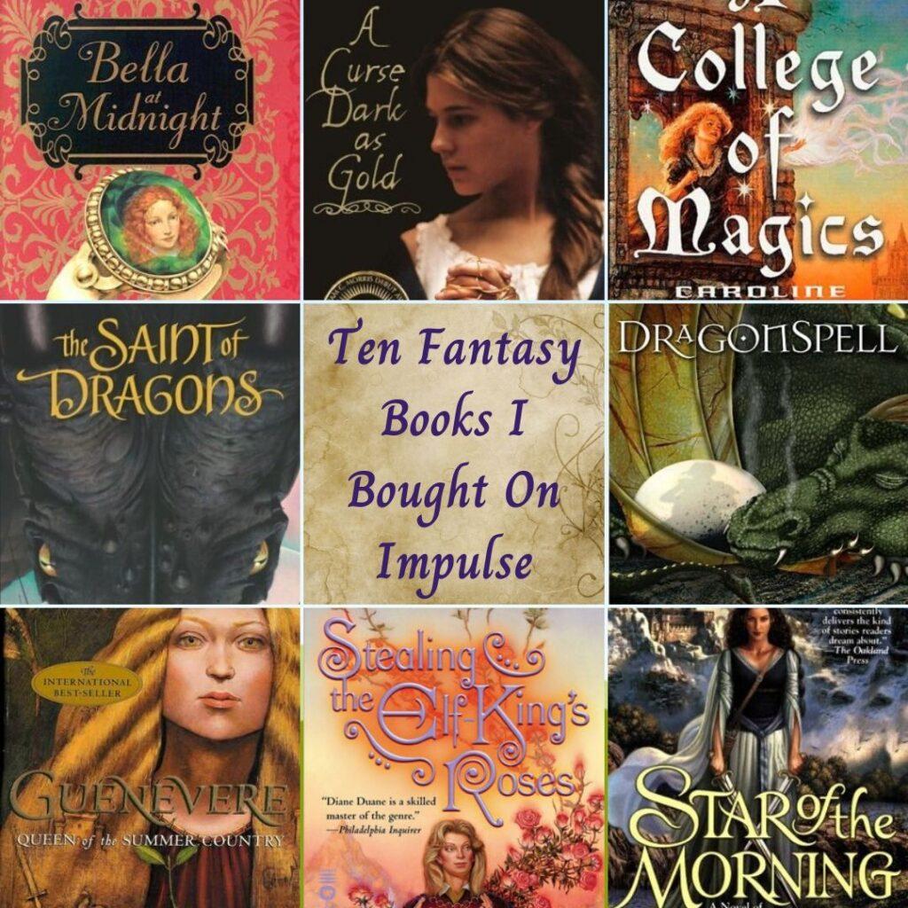 Top Ten Tuesday: Ten Fantasy Books I Bought On Impulse