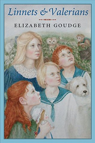 Book cover: Linnets and Valerians, by Elizabeth Goudge (Kindle version)