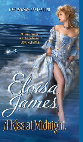 Book Cover: A Kiss at Midnight, by Eloisa James