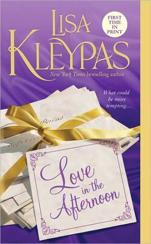 Book cover: Love in the Afternoon, by Lisa Kleypas