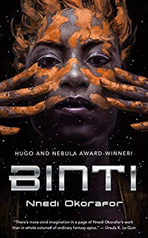 Book cover: Binti, by Nnedi Okorafor