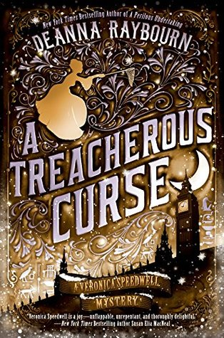 Book cover: A Treacherous Curse, by Deanna Raybourn
