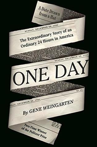 Book cover: One Day, by Gene Wiengarten