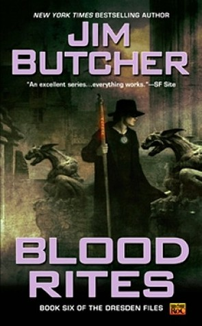 Book Cover: Blood Rites, by Jim Butcher