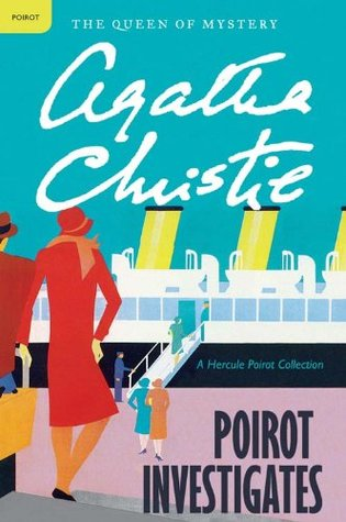 Book Cover: Poirot Investigates, by Agatha Christie