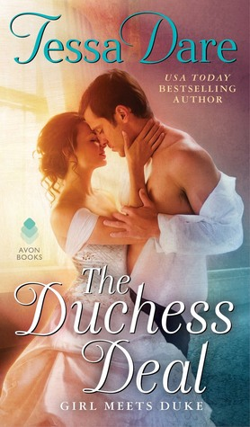 Book cover: The Duchess Deal, by Tessa Dare