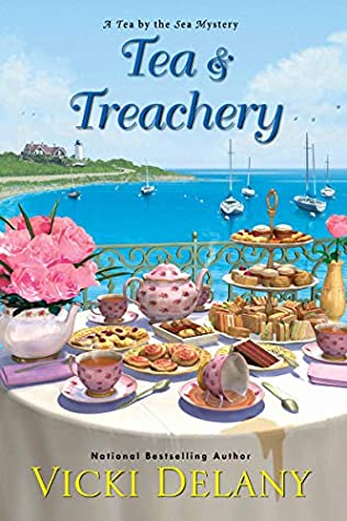 1 signed print copy of Tea & Treachery (tour-wide giveaway)