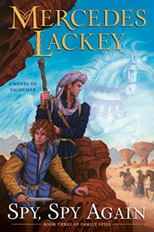 Book cover: Spy, Spy Again, by Mercedes Lackey