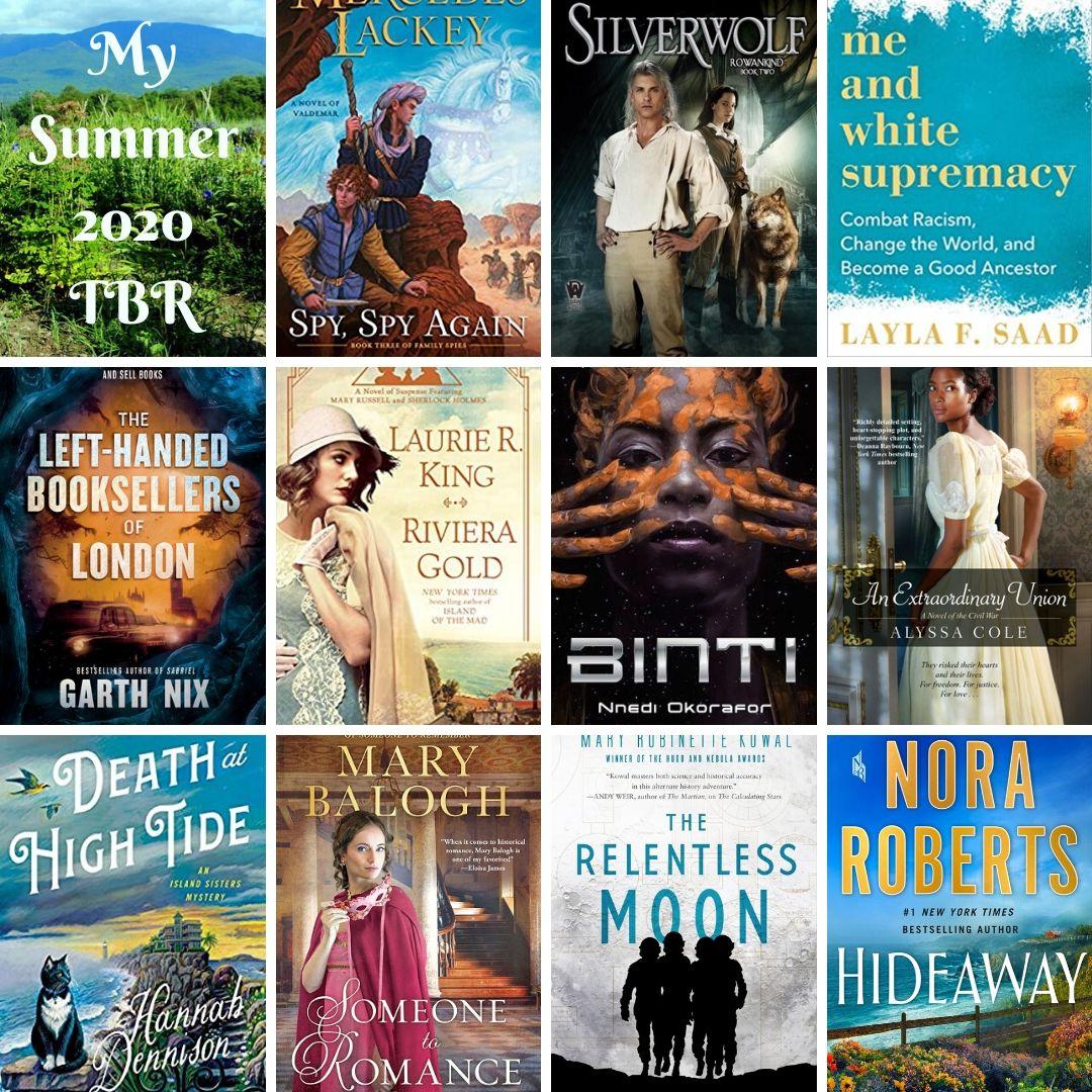 Top Ten Books on My Summer 2020 TBR