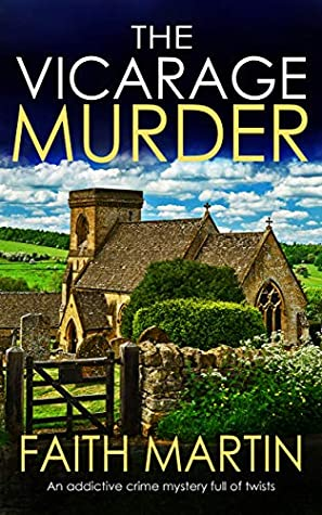 Book cover: The Vicarage Murder, by Faith Martin