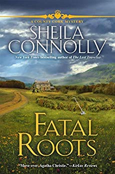 Book cover: Fatal Roots, by Sheila Connolly
