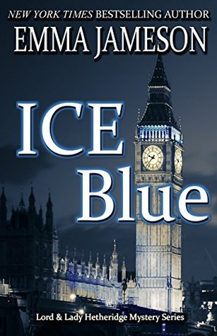Book cover: Ice Blue, by Emma Jameson