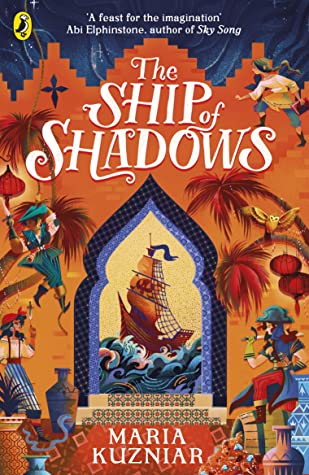 Book cover: The Ship of Shadows, by Maria Kuzniar