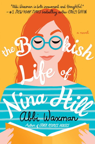 Book cover: The Bookish Life of Nina Hill, by Abbi Waxman