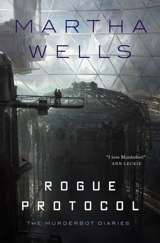 Book cover: Rogue Protocol, by Martha Wells