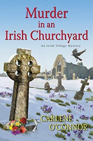 Book cover: Murder in an Irish Churchyard, by Carlene O'Connor