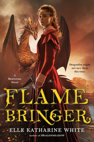 Book cover: Flamebringer, by Elle Katharine White