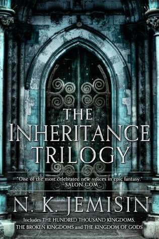 Book cover: The Inheritance Trilogy, by N. K. Jemison