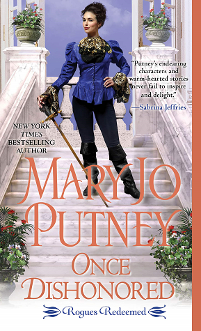 Book cover: Once Dishonored, by Mary Jo Putney
