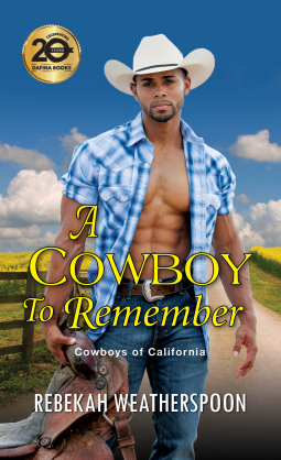 Book cover: A Cowboy To Remember, by Rebekah Weatherspoon