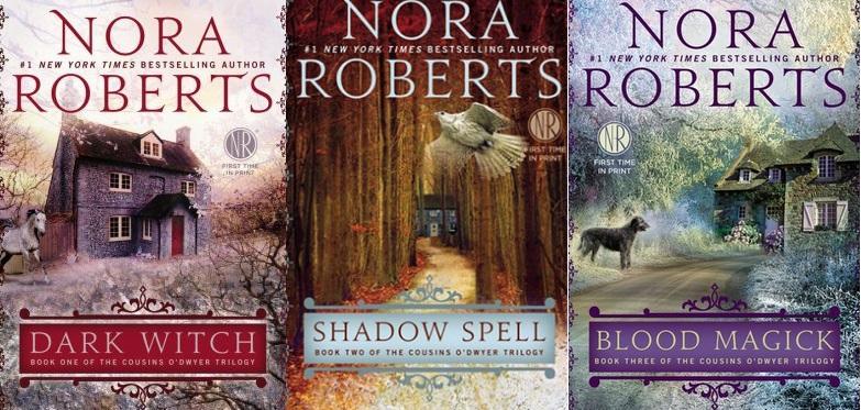 Cousins O'Dwyer trilogy, by Nora Roberts