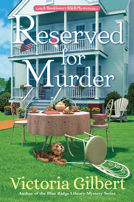 Book Cover: Reserved for Murder, by Victoria Gilbert