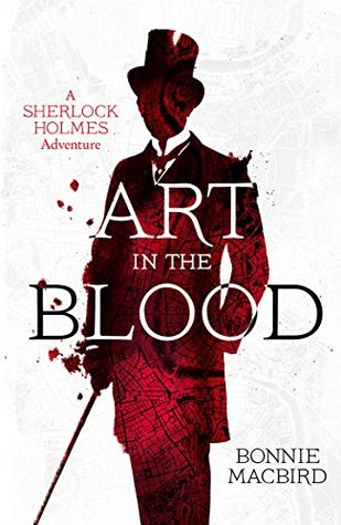 Book Cover: Art in the Blood, by Bonnie MacBird