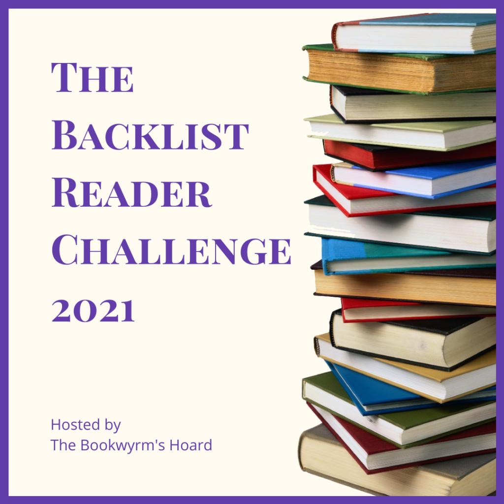 The Backlist Reader Challenge 2021 (header)