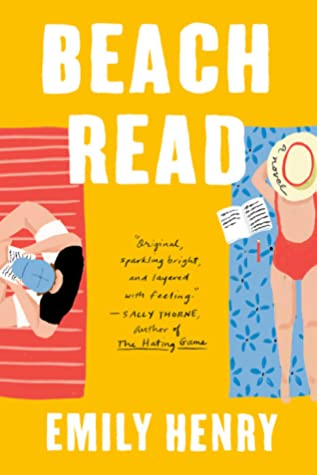 Book cover: Beach Read, by Emily Henry