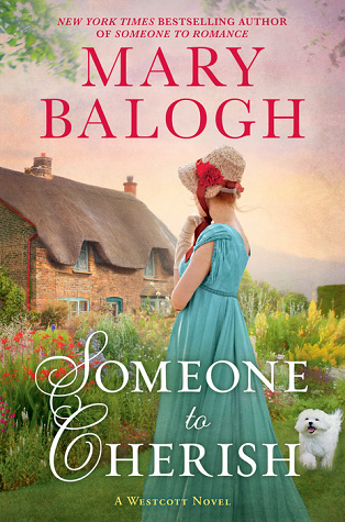Book cover: Someone To Cherish, by Mary Balogh