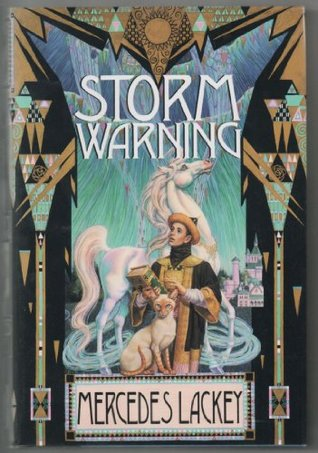 Book cover: Storm Warning, by Mercedes Lackey