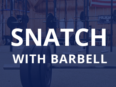 snatch-barbell