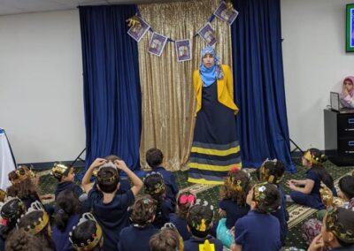 Quran Princesses Book party2
