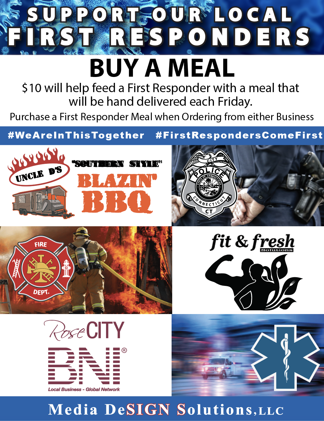 1st Responders Donate a Meal