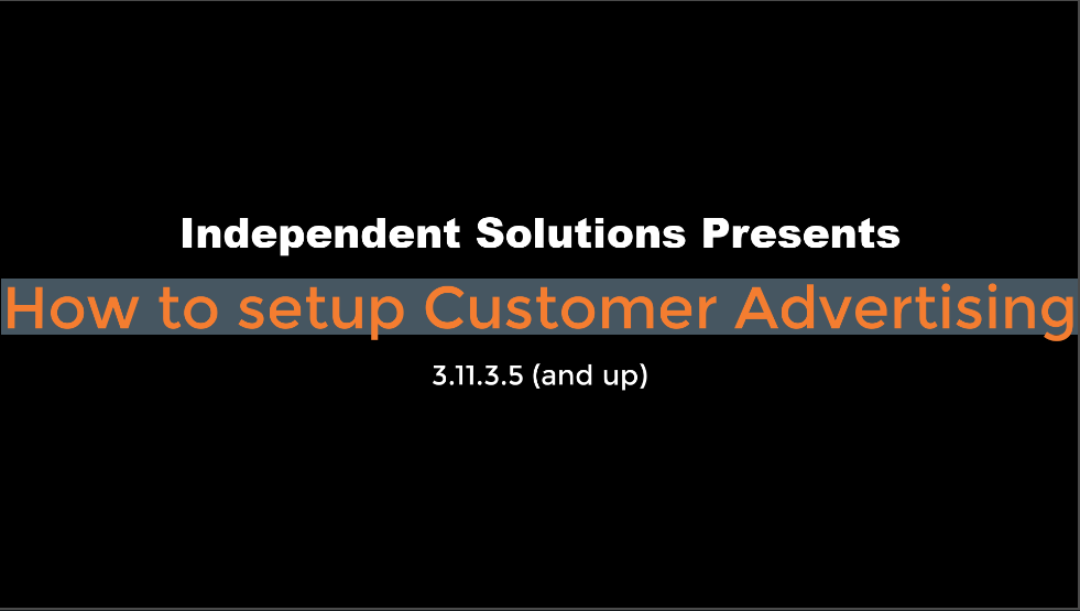 Customer Advertising: How To Set It Up