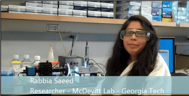Cell Spheroid Testing at Georgia Tech