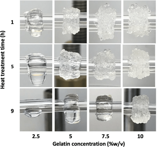 A Bioink Blend for Rotary 3D Bioprinting of Vascular Constructs