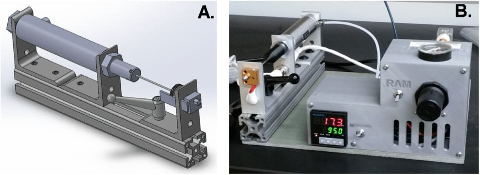 A Low-cost, Pilot-scale, Melt Processing System