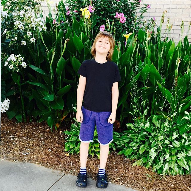 First day of 1st grade, check. I had the jitters...My little buddy rocked it.