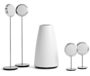 BeoLab 14ís universal connectivity brings the unmistakable joy of Bang & Olufsen sound to any TV, whether it's Bang & Olufsen or some other brand