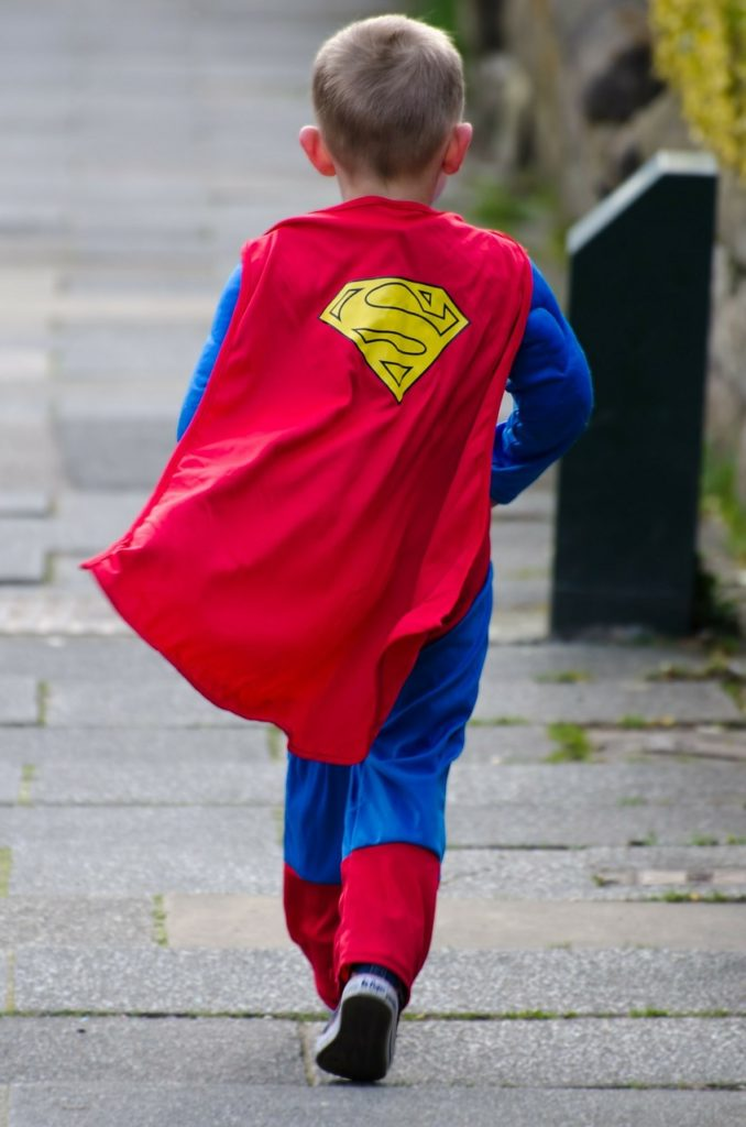 Your son is starting out on his own journey to become a hero in God's history.