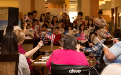 Founding Value of Service in America Inspires Global Citizenship