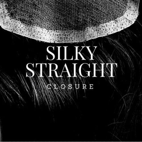 silky straight closure