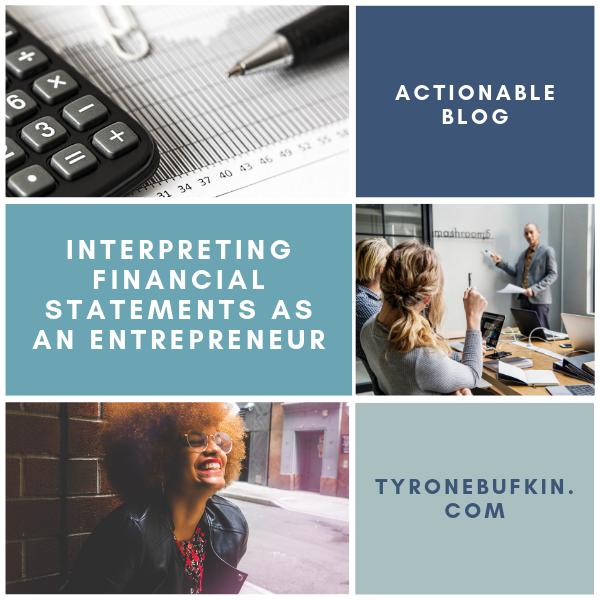 Interpreting Financial Statements as An Entrepreneur